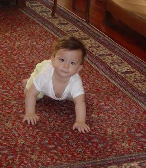 Çocuk ne zaman yürümeye başlıyor En yaygın ana soru